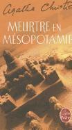 Meurtre en Mésopotamie - Couverture - Format classique