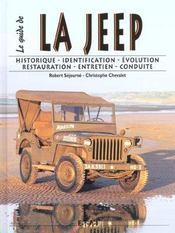 Le Guide De La Jeep - Intérieur - Format classique