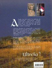 Sur les chemin de compostelle - 4ème de couverture - Format classique
