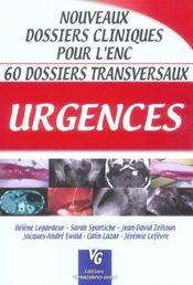 Urgences - Intérieur - Format classique
