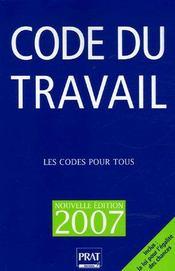 Code du travail 2007 - Intérieur - Format classique