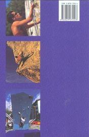 L'Escalade Sportive - 4ème de couverture - Format classique