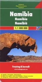 Namibie - Couverture - Format classique