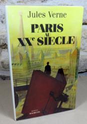 Paris au XX° siècle. - Couverture - Format classique