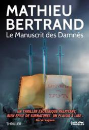 Le manuscrit des damnés - Couverture - Format classique