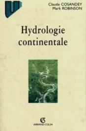 Hydrologie Continentale - Couverture - Format classique