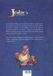Jolin la teigne t.2 ; la sorcière dans la lune - 4ème de couverture - Format classique