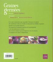 Graines germees - 4ème de couverture - Format classique