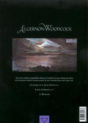 Algernon Woodcock t.2 ; l'oeil fé seconde partie - 4ème de couverture - Format classique