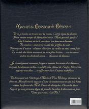 Manuel du chasseur de démons - 4ème de couverture - Format classique