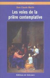 Les Voies De La Priere Contemplative - Intérieur - Format classique