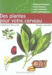 Des plantes pour votre cerveau - Intérieur - Format classique