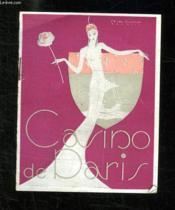 Programme. Casino De Paris. - Couverture - Format classique