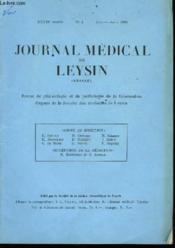 Journal Médical de Leysin (Suisse) N°4 - Couverture - Format classique