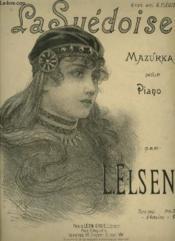 La Suedoise - Mazurka Pour Piano. - Couverture - Format classique