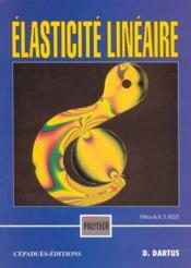 Elasticite lineaire - Couverture - Format classique