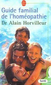 Guide familial de l'homéopathie - Intérieur - Format classique