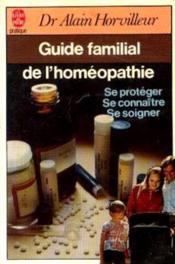 Guide familial de l'homéopathie - Couverture - Format classique