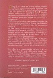 Le nez d'edward trencom - 4ème de couverture - Format classique