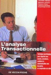 L'Analyse Transactionnelle - Intérieur - Format classique
