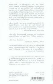 Court Traite Sur Les Vacances, Les Voyages Et L'Hospitalite Des Lieux - 4ème de couverture - Format classique