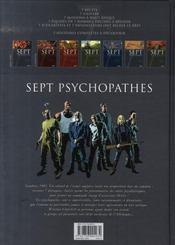 Sept psychopathes ; sept fous furieux sont chargés d'assassiner Hitler - 4ème de couverture - Format classique