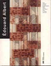 Edouard Albert - Couverture - Format classique