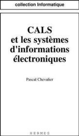 Cals et les systemes d info electroniques - Couverture - Format classique
