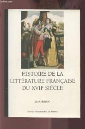 Histoire de la littérature française du XVII siècle - Couverture - Format classique