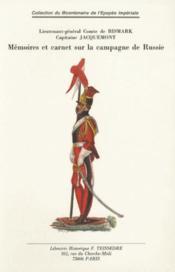 Mémoires et carnet sur la campagne de russie - Couverture - Format classique
