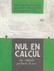 Nul En Calcul - Couverture - Format classique