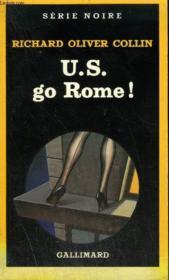 Collection : Serie Noire N° 1961 U.S. Go Rome ! - Couverture - Format classique