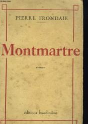 Montmartre - Couverture - Format classique