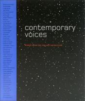 Contemporary Voices /Anglais - Couverture - Format classique