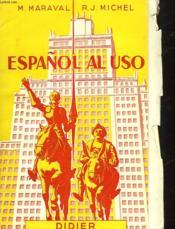 Español Al Uso - Couverture - Format classique