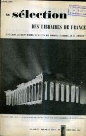 La Selection Des Libraires De France N°7 Decembre 1959 - 10e Annee Nouvelle Serie - Couverture - Format classique