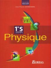 Physique 1 s eleve 2001 - Couverture - Format classique