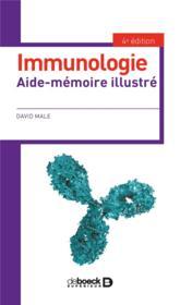 Immunologie ; aide mémoire illustré (4e édition) - Couverture - Format classique