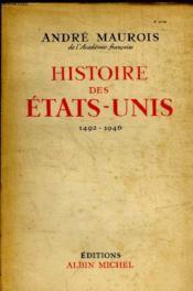 Histoire Des Etats Unis 1492 - 1946 - Couverture - Format classique