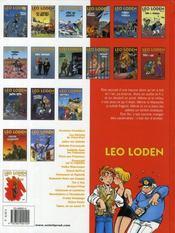 Léo Loden T.18 ; tapas, ou ça casse !!! - 4ème de couverture - Format classique