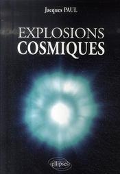 Explosions cosmiques - Intérieur - Format classique