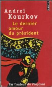 Le dernier amour du président - Couverture - Format classique