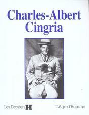 Charles-Albert Cingria - Intérieur - Format classique