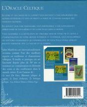 L'Oracle Celtique - 4ème de couverture - Format classique