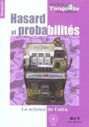 Hasard et probalites(hs 17 tangente) - Intérieur - Format classique