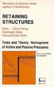 Retaining structures - Couverture - Format classique