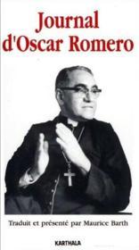 Journal d'Oscar Romero - Couverture - Format classique