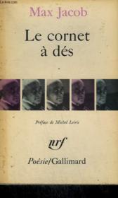 Le Cornet A Des. Collection : Poesie. - Couverture - Format classique