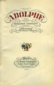 Adolphe - Couverture - Format classique