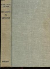 Les Damnes Du Mensonge - Couverture - Format classique